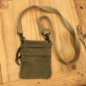 Olive/Brown Crossbody bag